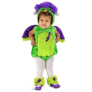 NEW Princess Paradise Toddler Franken Owl Costume